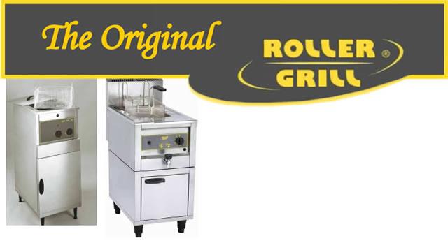roller grill friteuses met hoog vermogen. Black Bedroom Furniture Sets. Home Design Ideas