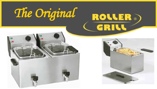 Beste Roller Grill-PROFESSIONELE TAFEL FRITEUSES AW-92